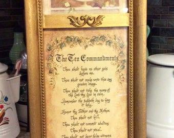 The Ten Commandments Picture