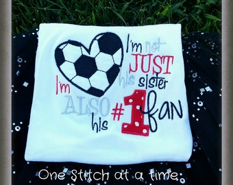 soccer sister number one fan
