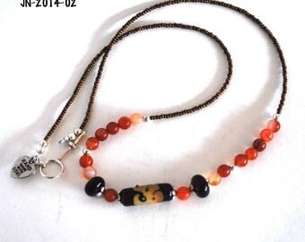 Necklaces for Women, Unique Necklaces, Ready to Ship, Silver Necklace, Popular Necklaces, Statement Necklace, Lampwork Necklace