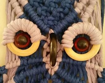 macrame Owl,