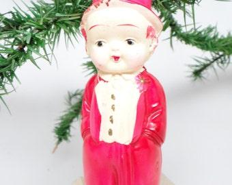 Vintage 1940's Celluloid Boy Doll Toy