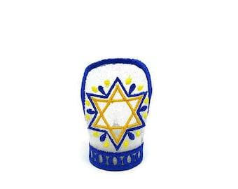 Star of David tealight