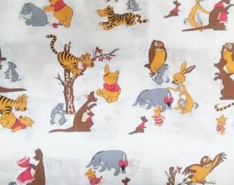 Vintage Winnie The Pooh Fabric