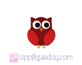 Mini Owl Digital Embroidery Design Instant Download