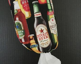 Craft Beers Plastic Bag Dispenser/Plastic Bag Holder