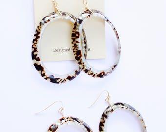 Urban Hoop Earrings, Big Hoop Earrings, Wire Wrapped Hoops, Trending Item, Introductory Price, Limited Edition, Ready to Ship