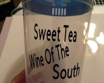 Sweet Tea Wine Of The South Pitcher