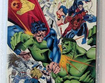 Marvel Vs DC #3 1996