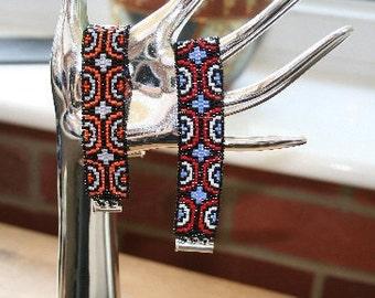 Semi-Circle Peyote Bracelet