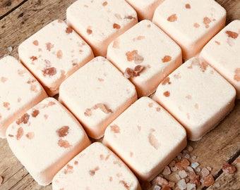 Bath Bombs Orange Vanilla Patchouli Set of 12 Natural Bath Bombs - Aromatherapy Bath - Gifts for Girlfriends Bath - Bath Fizzies