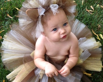 Halloween Delivery Guaranteed! Lion Costume, Lion Tutu Costume, Cat Costume, Infant and Toddler Halloween Costume