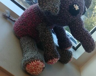 Crocheted stuffed toys (: