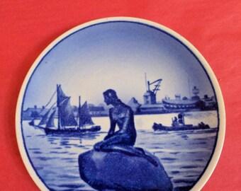 Royal Copenhagen Denmark mini plate.