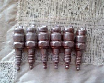 3D Chocolate Spark Plug Favors