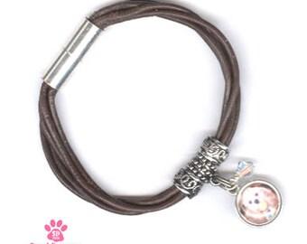 Personalized Pet Photo Jewelry Pet Photo Bracelet Custom Pet Photo Bracelet Pet Memorial Photo Bracelet