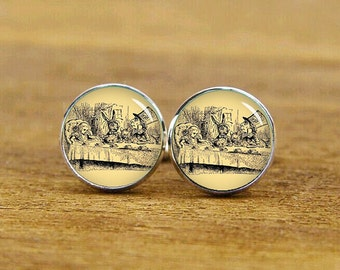 vintage photo cufflinks, personalized cufflinks, custom oil painting, custom wedding cufflinks, round, square cufflinks, tie clips, or set