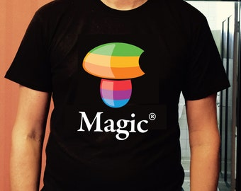 "Nature's Gnosis High Quality Screen Printed Tee ""Magic"" Design"