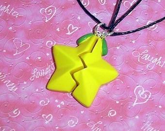 Kingdom Hearts - Friendship Paopu Fruit Necklaces