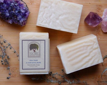 Tea Tree Handcrafted Soap