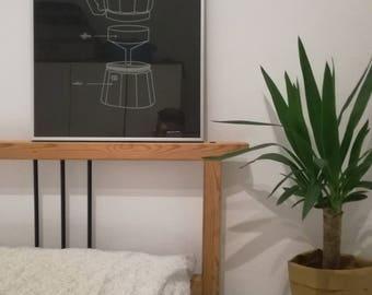 Coffee moka pot screen print (40x50)