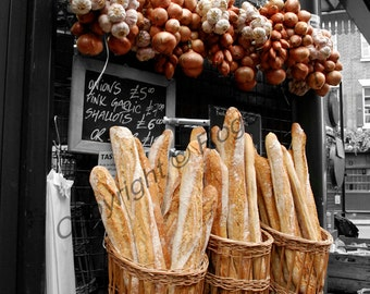 Digital Download, ''Baguettes, Borough Market, London'', photography by Roger Pan
