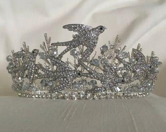Happiness Tiara, Fantasy Crown, Costume Tiara, Photoshoot Headpiece