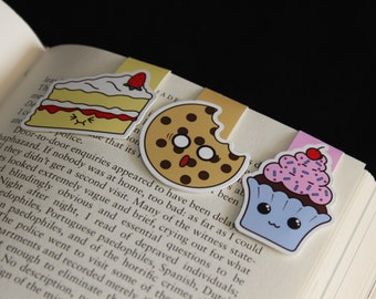 Baked Goods   Magnetic Bookmarks