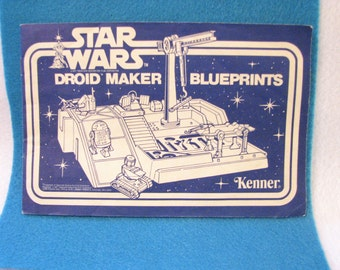 Star Wars Droid Maker Blueprints - Kenner