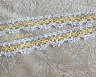 Pretty lace, guipure lace