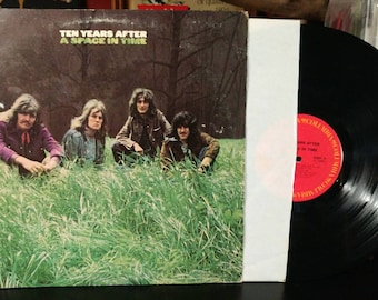 Ten Years After - A Space In Time Vintage Vinyl Record Album 1971 Columbia Records Classic Rock KC30801