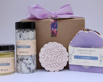 Mother in law birthday gift etsy lavender birthday gift box valentine spa gift box set mother in law gift negle Choice Image