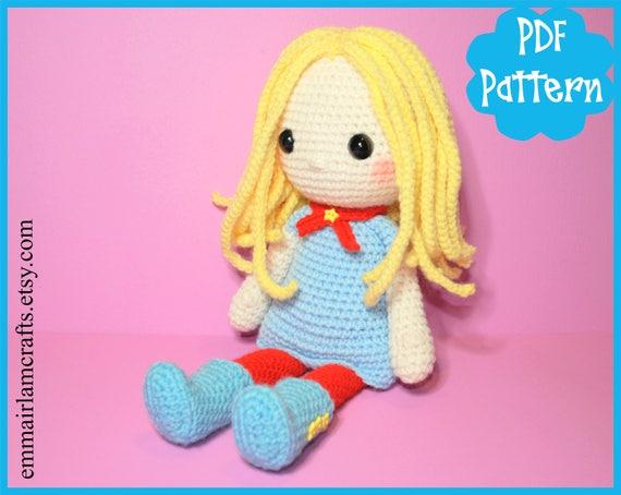 Pdf Sally Doll Crochet Pattern Doll Amigurumi Amigurumi