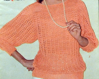 Coats & Clark Year Round Fashions Book No. 280 Sweaters Knitting and Crochet