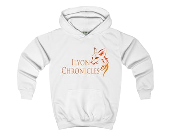 Ilyon Chronicles Orange Fox Kids Hoodie