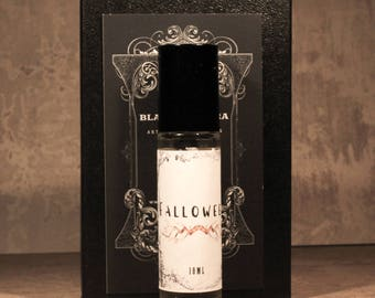 FALLOWEEN Artisan Perfume Oil, Handmade Autumn Perfume, Fall Fragrance, Unique Fall Perfume Blend, Halloween Perfume, Autumn Roll-On Perfume