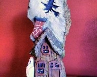 Haunted House in Cottonwood Bark
