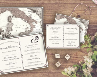 The Sorrento Wedding set