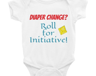 Roll for Initiative Baby Bodysuit