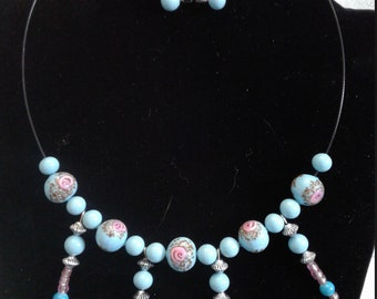 chic Bead Necklace