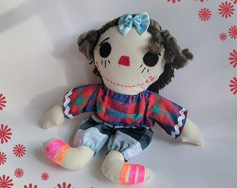 Miss Lucy - the Fabric Doll
