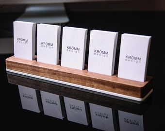 Vertical moo business card stand business card display moo business card holder business card stand business card display walnut wood and colourmoves