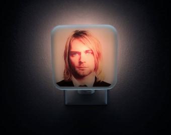 Kurt Cobain Night Light, 90s, 90s birthday, 90s party, Grunge, Nevermind, Nirvana, Kurt Cobain art, Smells like Teen Spirit, Guitar