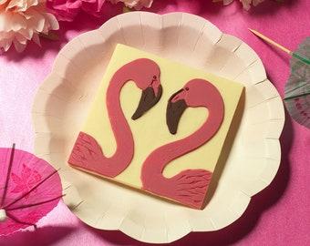 Chocolate Flamingos