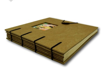 Vintage Khaki - Photo album and Scrapbook by MyPapermake