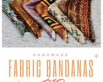 African Print Bandana PT2
