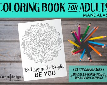 Coloring Book for Adults: Mandalas