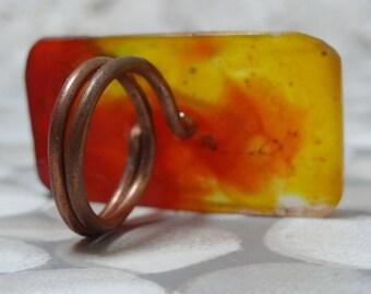 rectangular, original & unique ring