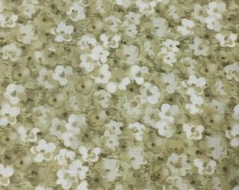 "SunflowerJournal Olive 45"" 100% Cotton Fabric"