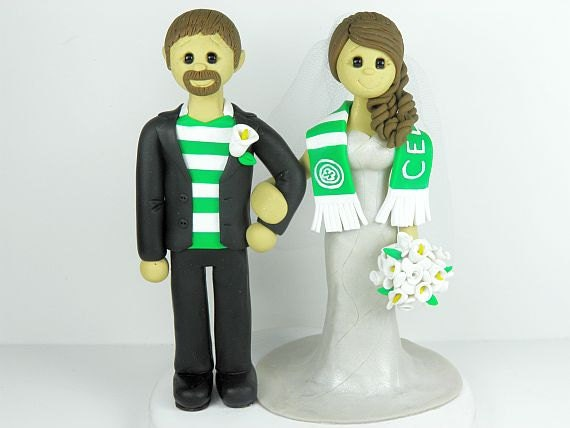 celtic wedding cake toppers uk items similar to custom and groom wedding cake 12477