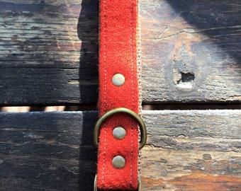 Red/Orange Tweed